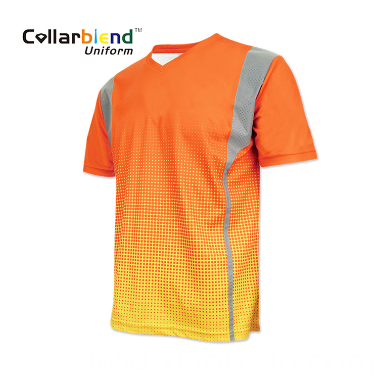 Sublimation Reflective T Shirt